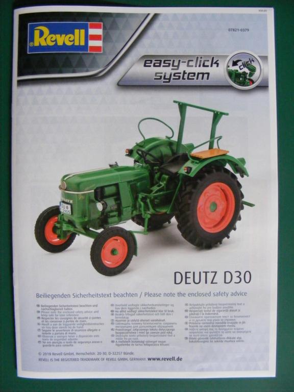 TRACTEUR DEUTZ D30 ( REVELL 1/24 ) Dscf8187