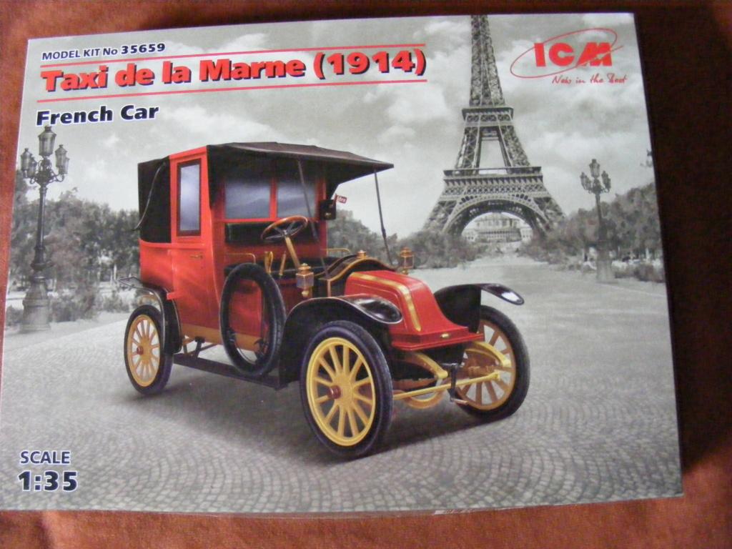 Renault Taxi de la Marne 1914  avec figurines (kits ICM 1/35) Dscf8281