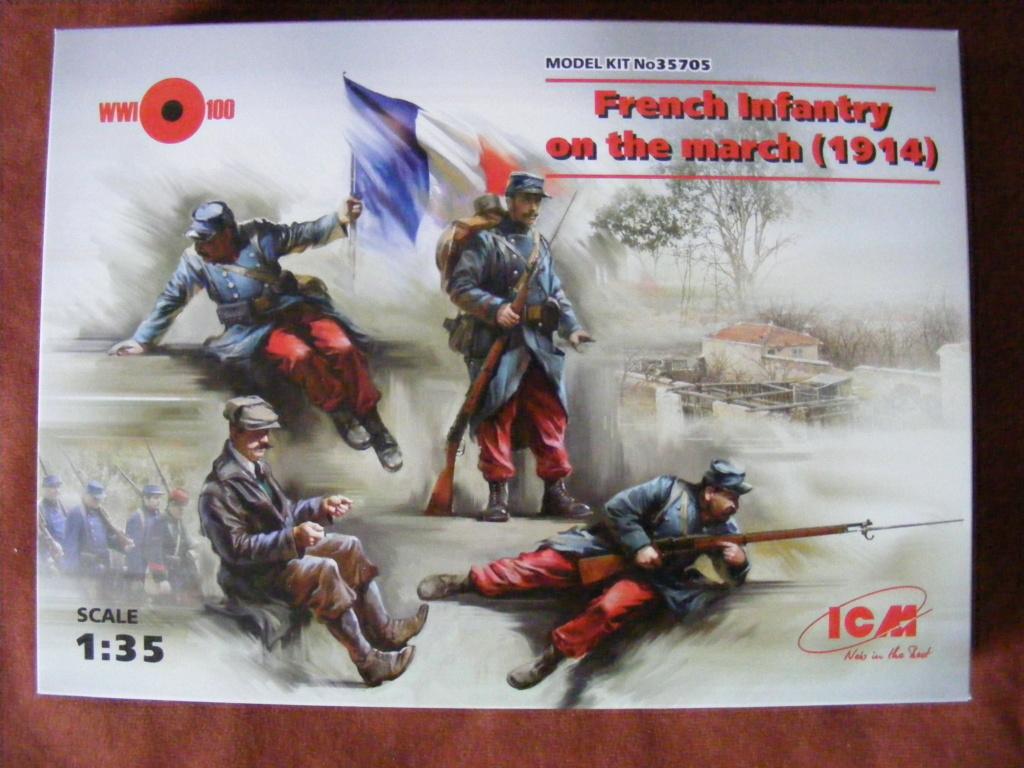 Figurines Revell Soldats Français de 1914  Dscf8450