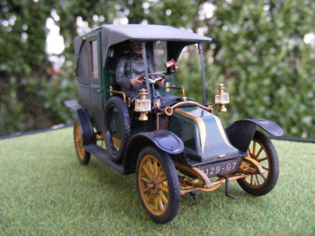 Renault Taxi de la Marne 1914  avec figurines (kits ICM 1/35) - Page 2 Dscf8470