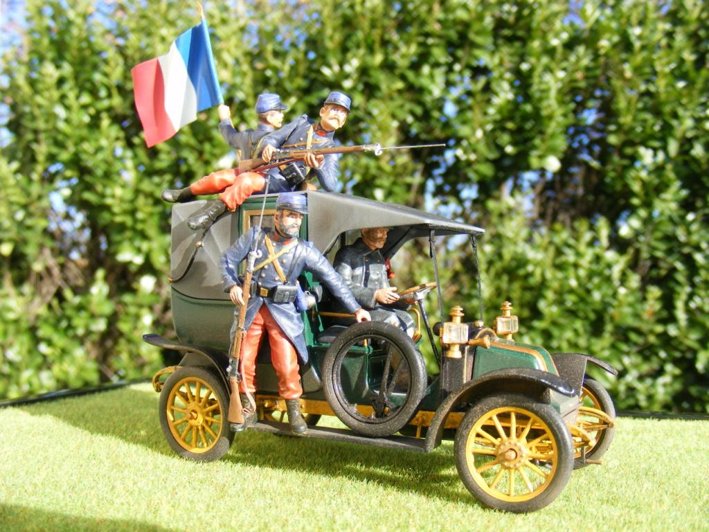 Renault Taxi de la Marne 1914  avec figurines (kits ICM 1/35) - Page 2 Dscf8478