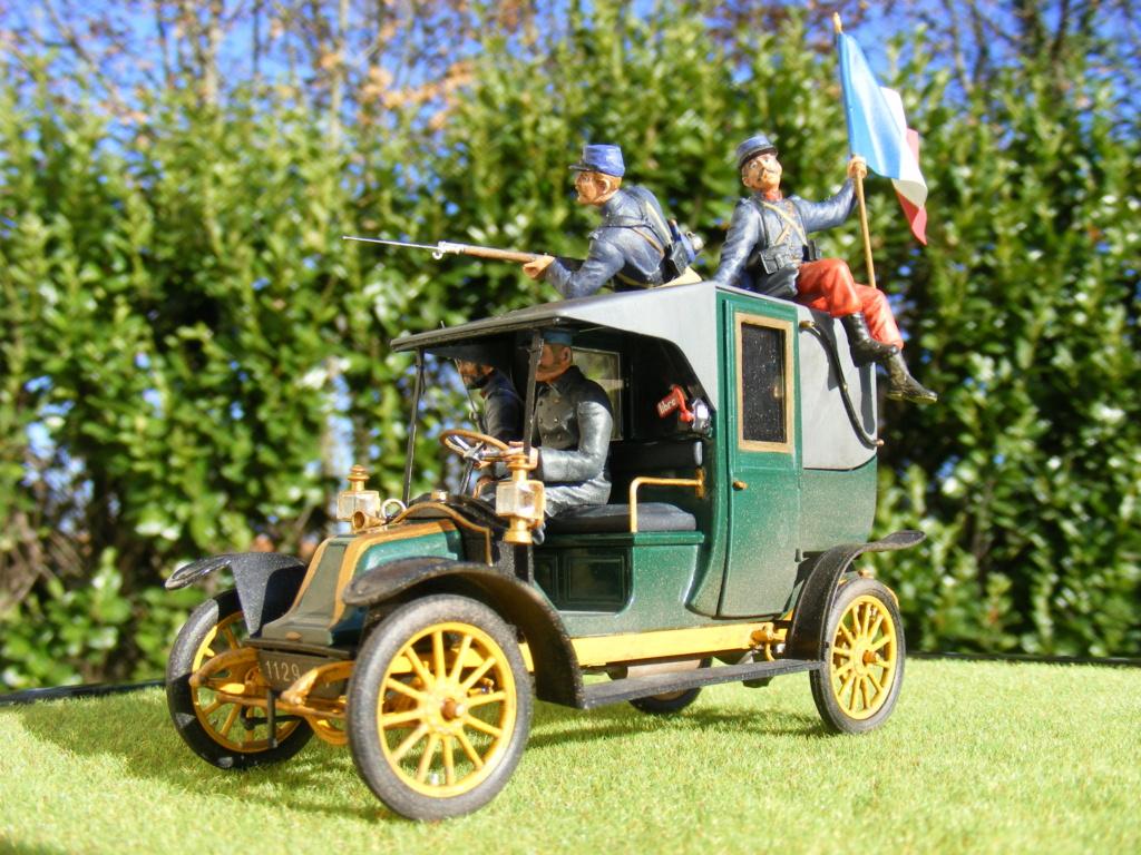 Renault Taxi de la Marne 1914  avec figurines (kits ICM 1/35) - Page 2 Dscf8479