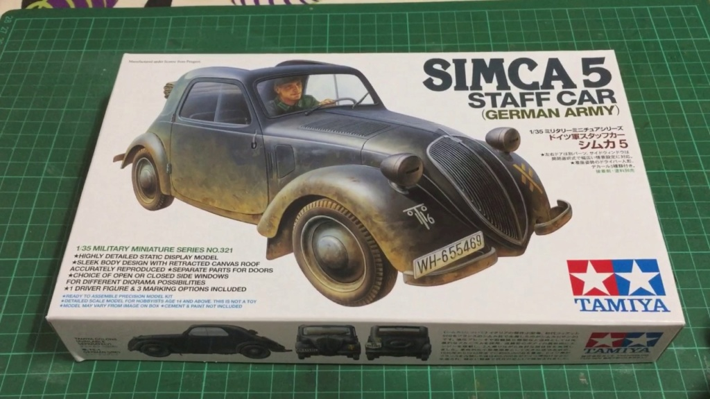 Simca 5 ou Traction 11 CV ou Italian delivery van Maxres10