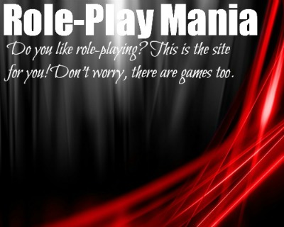 Role-Play Mania!