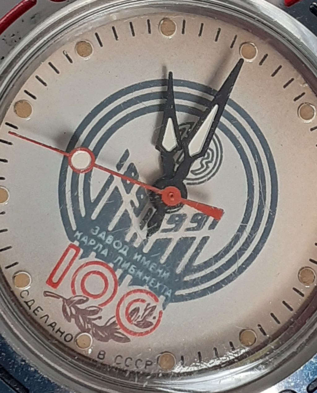 [Mini-revue] Vostok - Karl Liebknecht 1891-1991 20200530