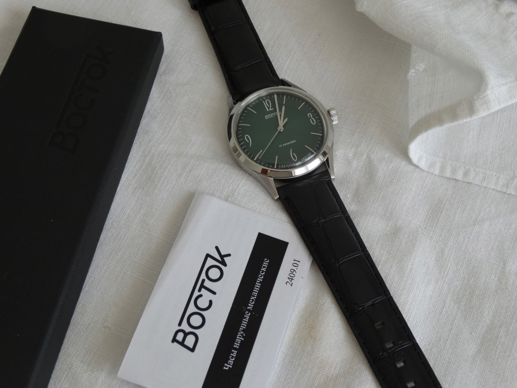 [Vendue] Vostok Classica verte Dsc02321