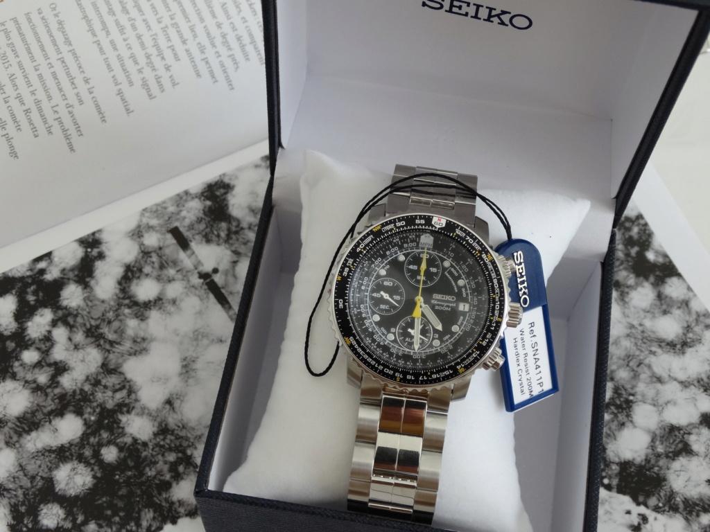"""[Revue] Seiko SNA411P1 - """"Flightmaster"""" Dsc02724"""