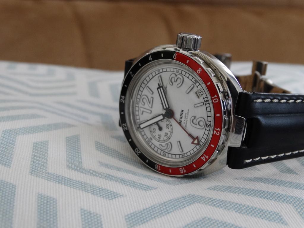 "[Revue] Vostok - Neptune ""GMT"" 960761-22 Vostok13"