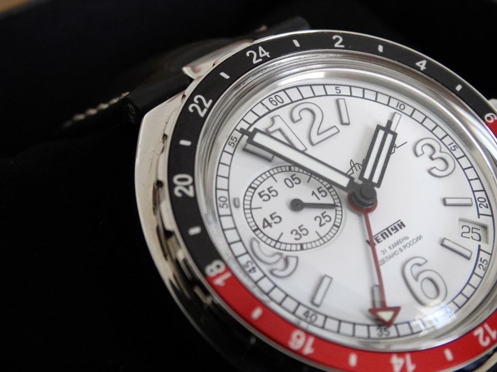 "[Revue] Vostok - Neptune ""GMT"" 960761-22 Vostok14"