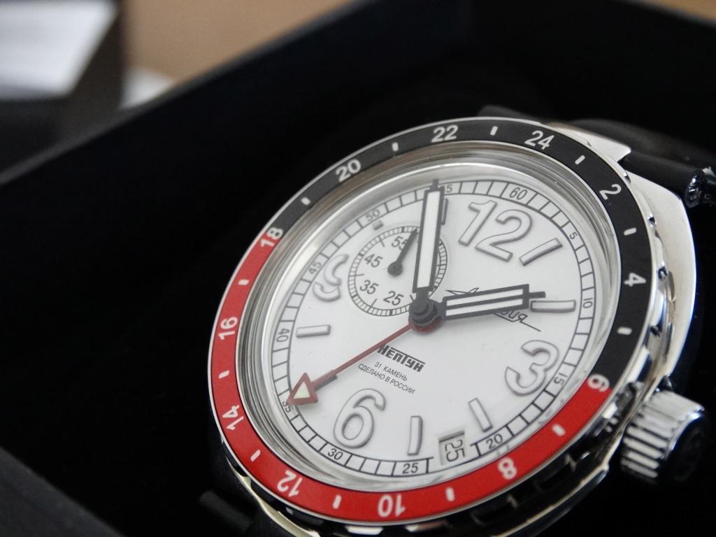 "[Revue] Vostok - Neptune ""GMT"" 960761-22 Vostok15"
