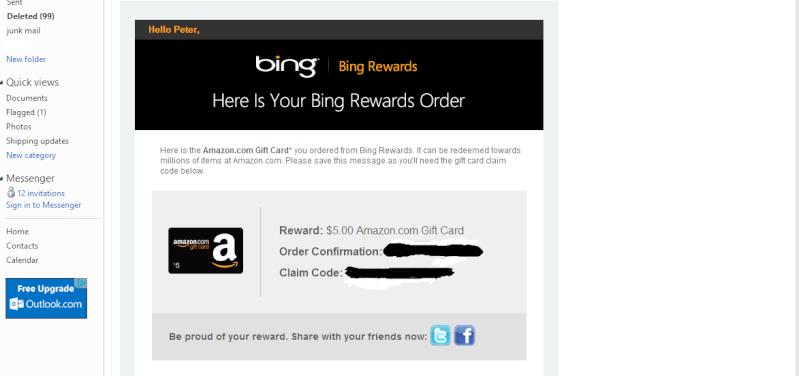 Bing Rewards Review Bing210