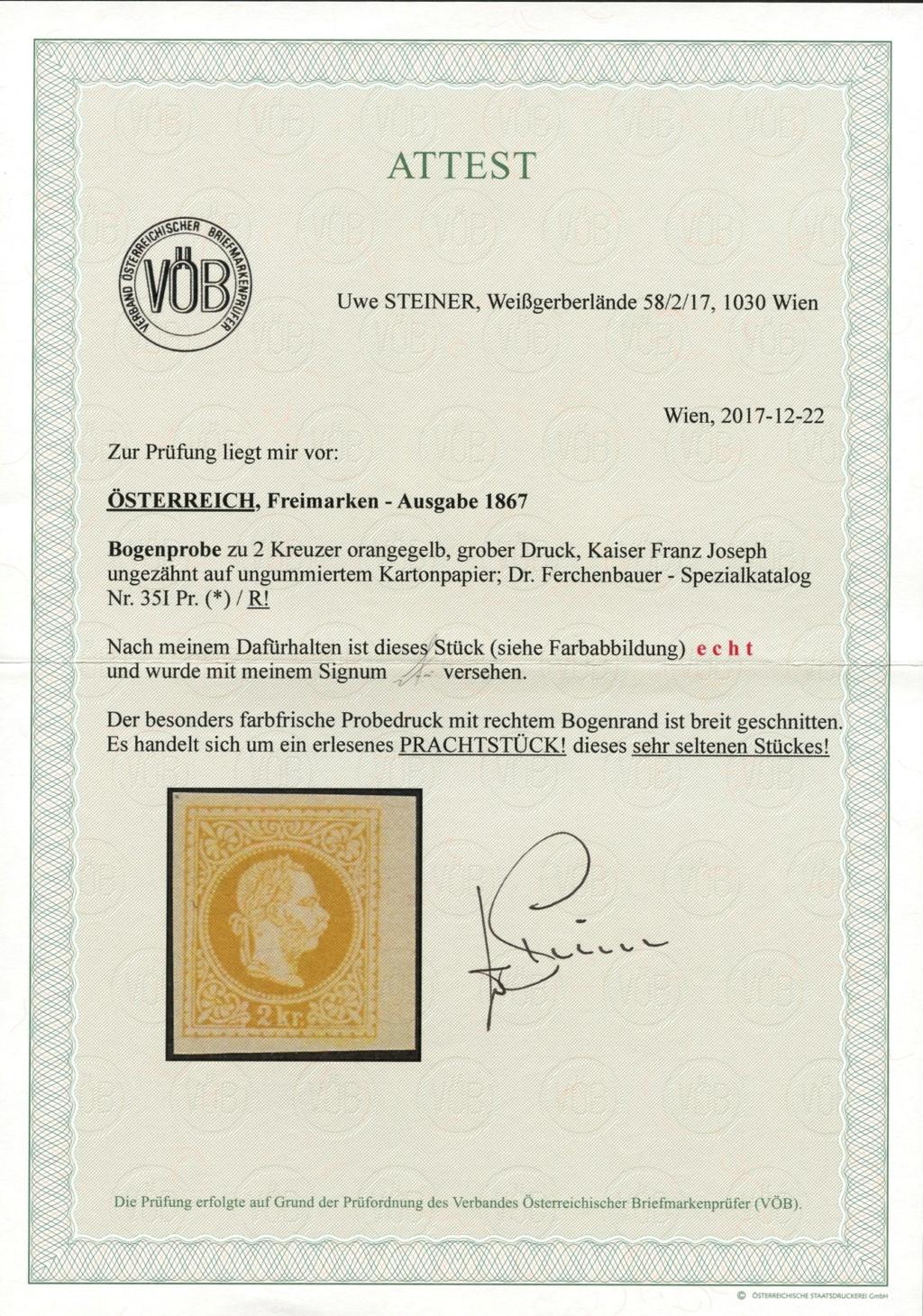 Freimarken-Ausgabe 1867 : Kopfbildnis Kaiser Franz Joseph I - Seite 20 35_i_p10