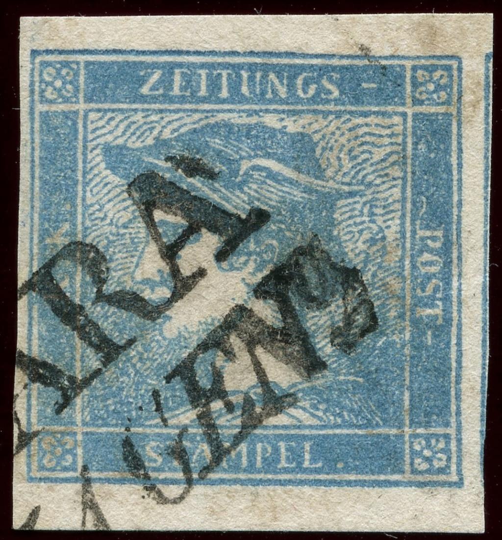 DIE ZEITUNGSMARKEN AUSGABE 1851 Ib_sch15