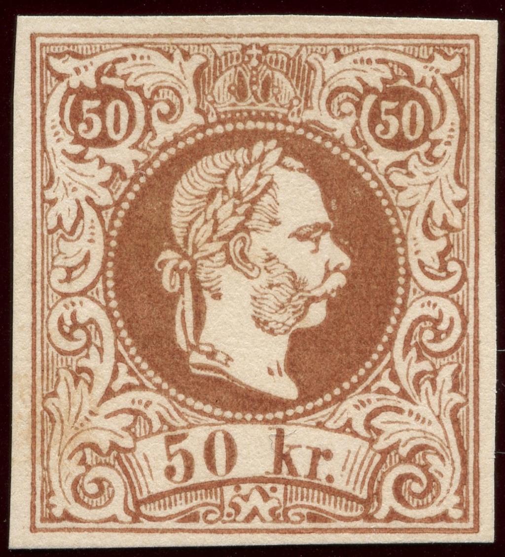 Freimarken-Ausgabe 1867 : Kopfbildnis Kaiser Franz Joseph I - Seite 20 Img64610