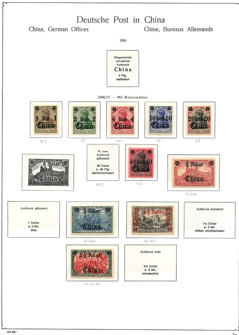 Briefmarken - Briefmarkenvordrucke Kabe_b11