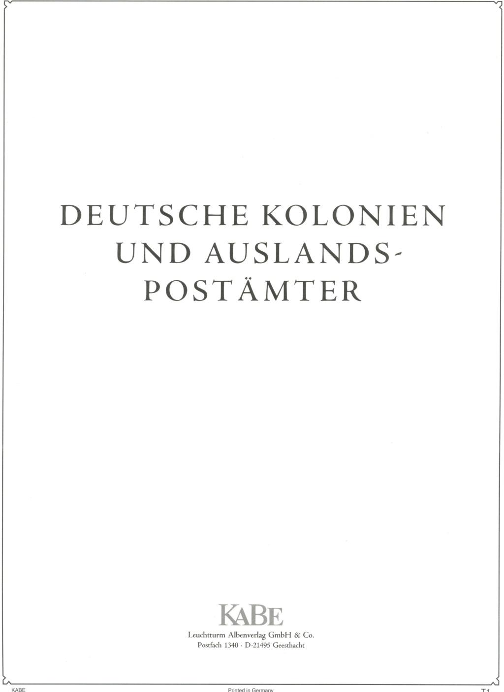 Briefmarken - Briefmarkenvordrucke Kabe_b12