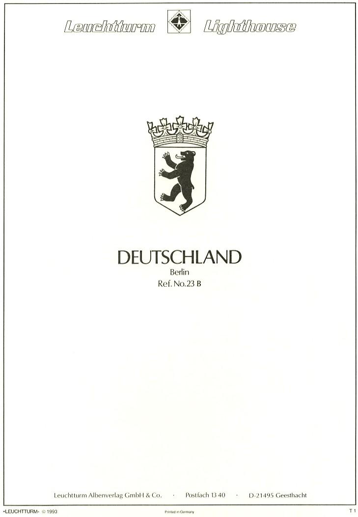 Briefmarken - Briefmarkenvordrucke Leucht10
