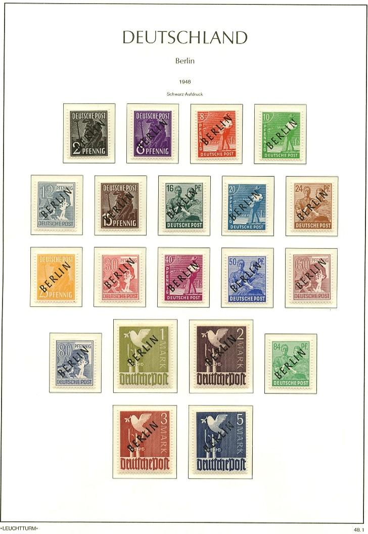 Briefmarken - Briefmarkenvordrucke Leucht11