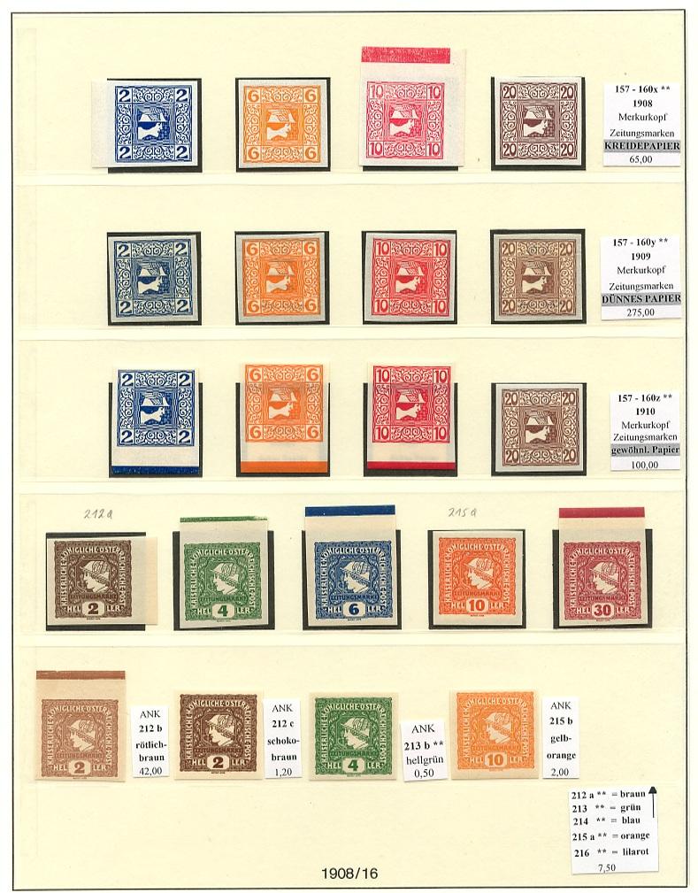 Briefmarken - Briefmarkenvordrucke Lindne12