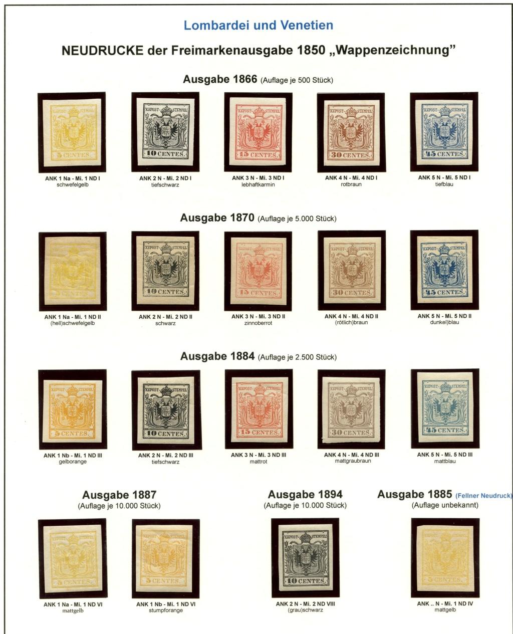 Die Neudrucke der Österreichischen Postwertzeichen-Ausgaben 1850-1864 Lv_18510