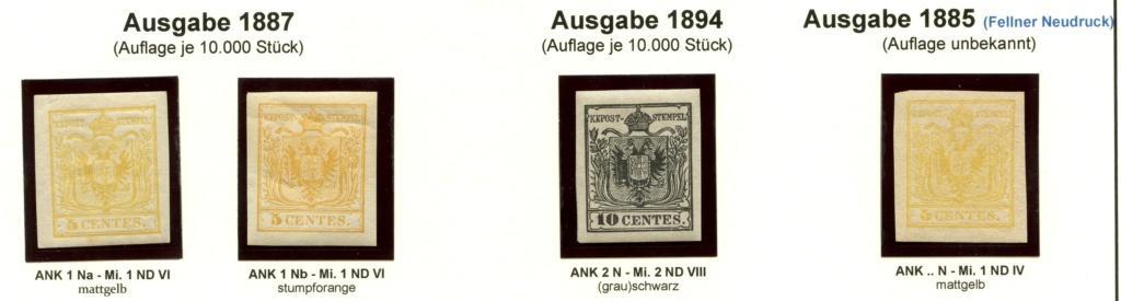 Die Neudrucke der Österreichischen Postwertzeichen-Ausgaben 1850-1864 Lv_18811