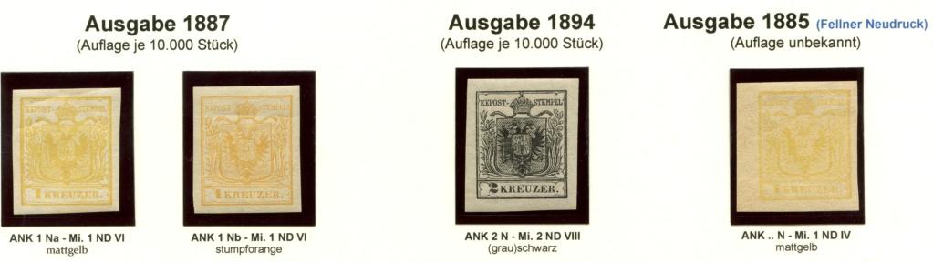 Die Neudrucke der Österreichischen Postwertzeichen-Ausgaben 1850-1864 Z_188711