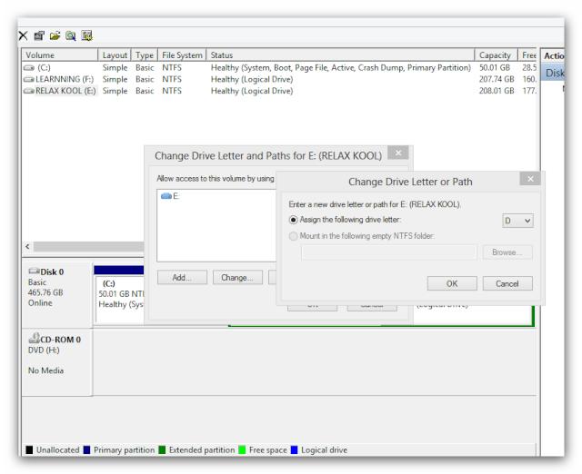 Thay Nhãn (Label) cho ổ đĩa Cứng trong Windows 7,8 Ashamp39