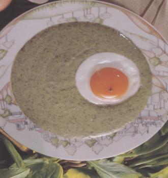 Венгерский суп-пюре из шпината со сливками Nnd_10