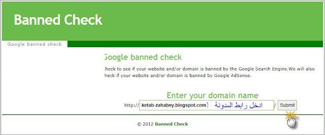 اكتشف هل موقعك مخالف لسياسات جوجل ادسنس أم لا مع هذا الموقع 110