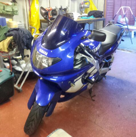 Fitted new downpipes. 20121111