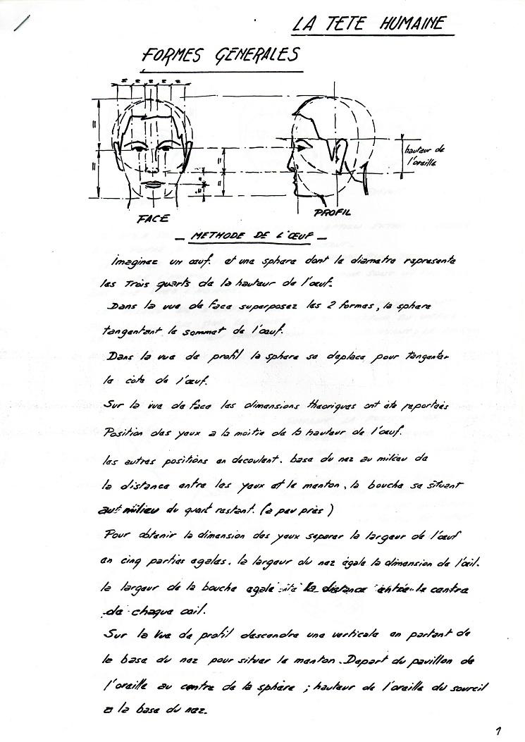 La tête humaine (cours de Marc Noury) Latete10