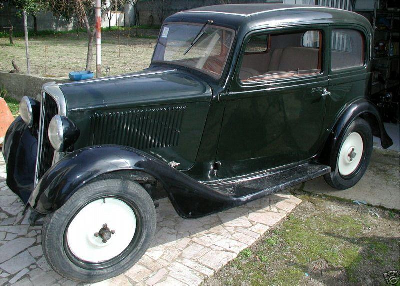 """SIMCA-FIAT, 6cv """"balilla"""", 5 """"topolino"""", 8 """"1100"""" les franco-italiennes 1934_f10"""