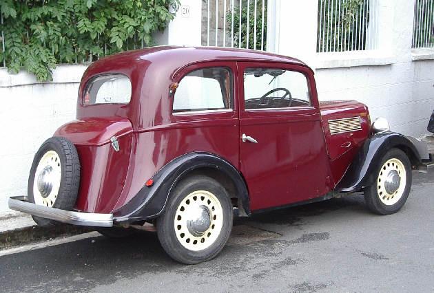 """SIMCA-FIAT, 6cv """"balilla"""", 5 """"topolino"""", 8 """"1100"""" les franco-italiennes 1938_r10"""