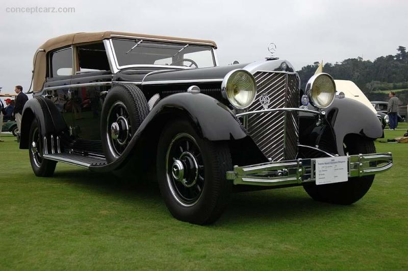 Les Mercedes des années 30/40 - Page 2 30_mer10
