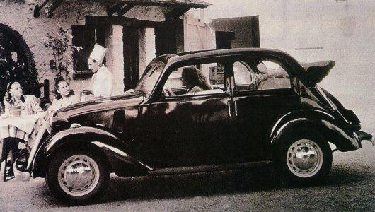 """SIMCA-FIAT, 6cv """"balilla"""", 5 """"topolino"""", 8 """"1100"""" les franco-italiennes Simca210"""
