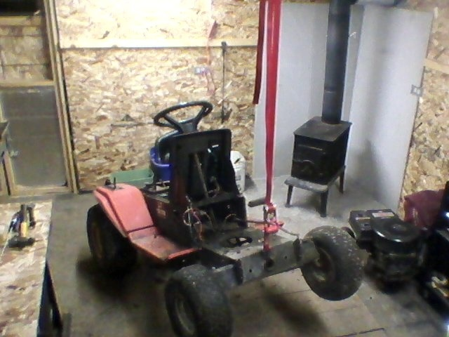 1990 AGWAY work/off road tractor  Stripp10