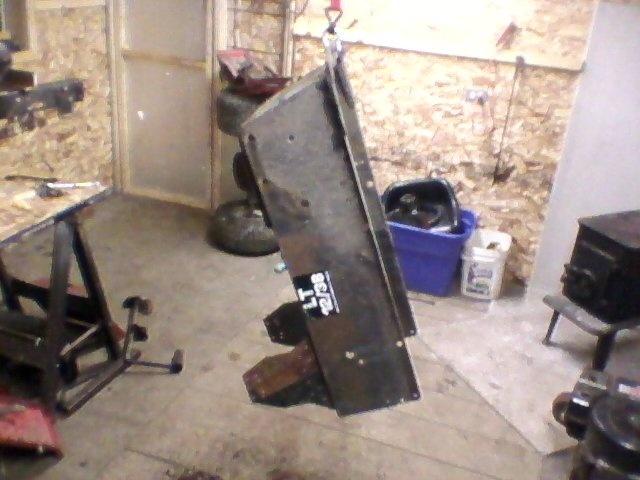 1990 AGWAY work/off road tractor  Stripp11