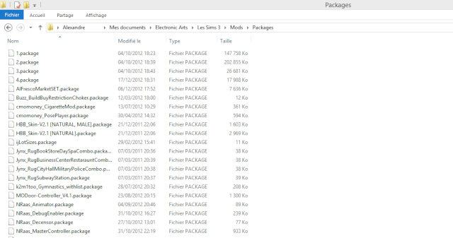 Installation packages sous Windows 8 Screen11