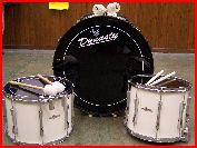 """Affaire en Or et à saisir ! 13 Snares 14"""" + 5 tenors 16"""" + 1 Bass drum 26"""" Majestic Rfch_m10"""