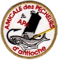 Annonces badges brodés en tissu de clubs Antioc10
