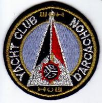 Annonces badges brodés en tissu de clubs Arcach10