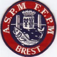 Annonces badges brodés en tissu de clubs Aspm_b10