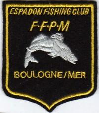 Annonces badges brodés en tissu de clubs Boulog10