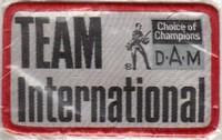 Annonces 2 badges brodés en tissu de marques Dam10
