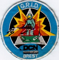 Annonces badges brodés en tissu de clubs Dcn_br10