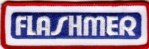 Annonces 1 badges brodés en tissu de marques Flasme10