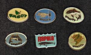 Annonces pin's de marques Rapala12