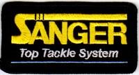 Annonces 2 badges brodés en tissu de marques Sanque11