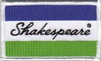 Annonces 2 badges brodés en tissu de marques Shakes10
