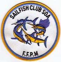 Annonces badges brodés en tissu de clubs Soa10
